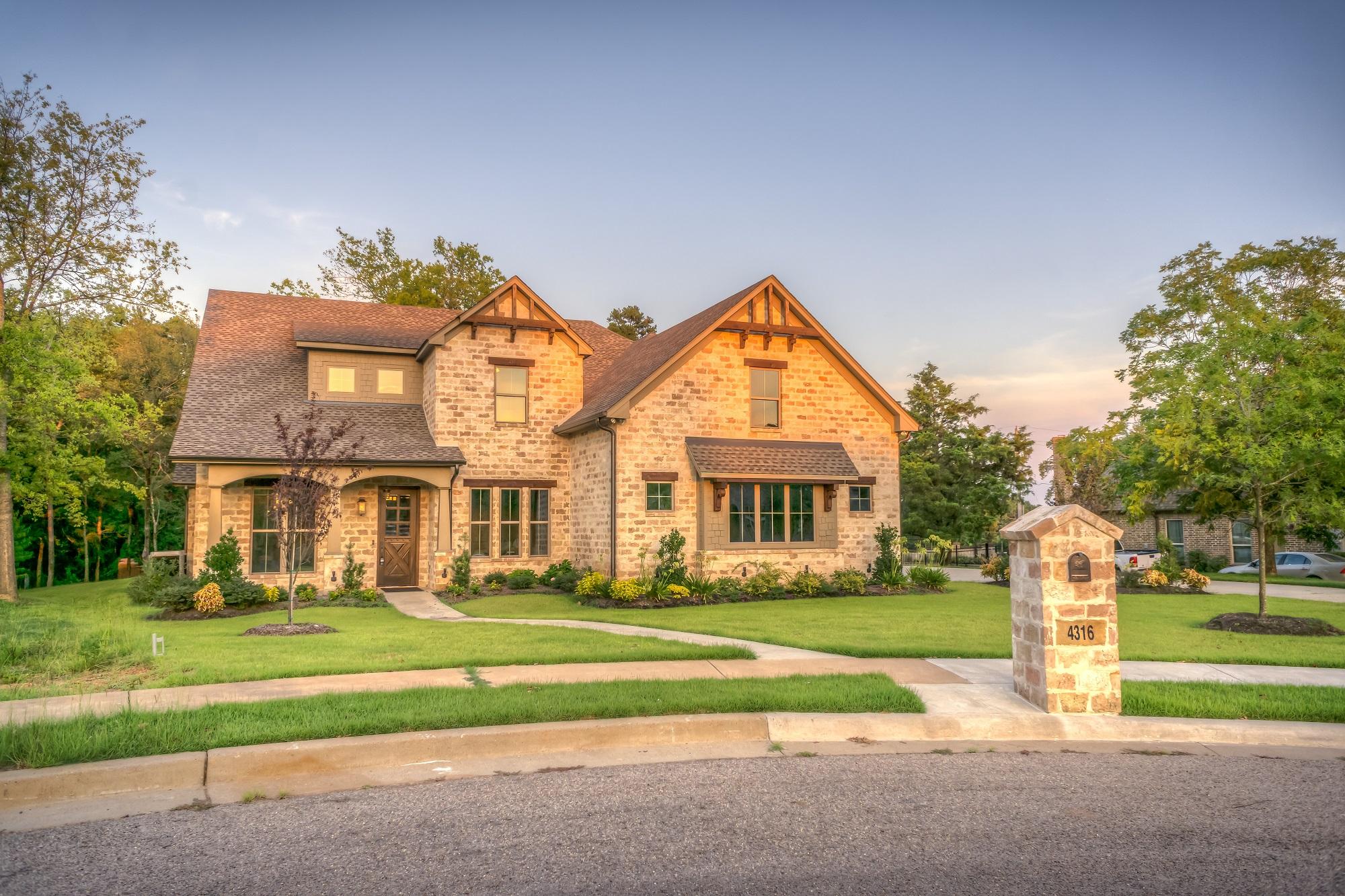 amazing stone home